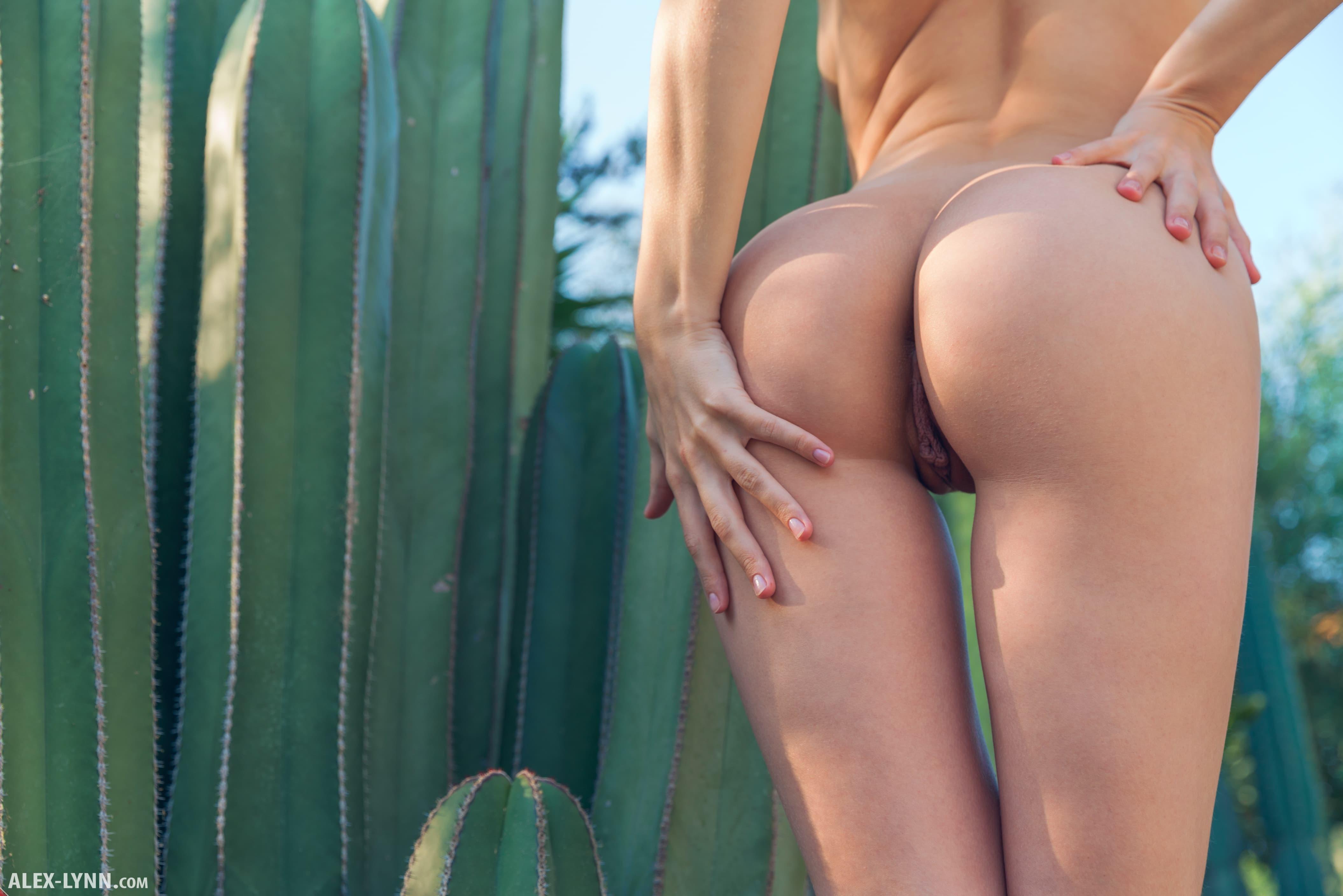 Красавица с круглой аккуратной попкой - фото