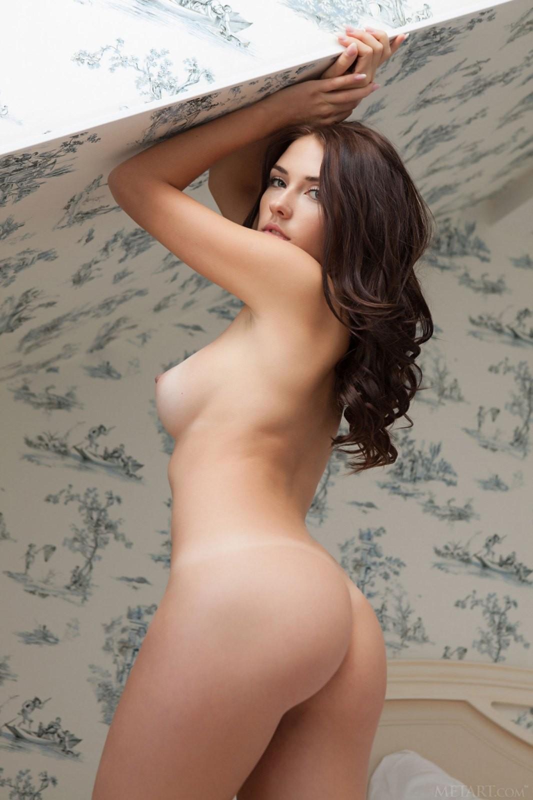 Соска с упругой грудью и красивой жопой - фото